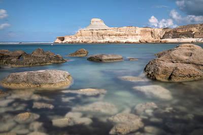 Malta Photograph - Xwejni Bay - Gozo by Joana Kruse