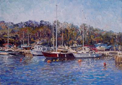 Yahts At The Black Sea Original by Andrey Soldatenko