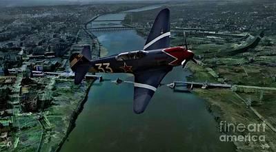 Yak Digital Art - Yakovlek Yak 18 - Oil by Tommy Anderson