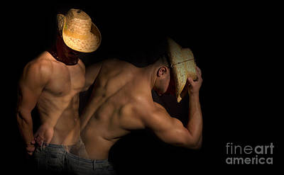Sensual Digital Art - Western by Mark Ashkenazi