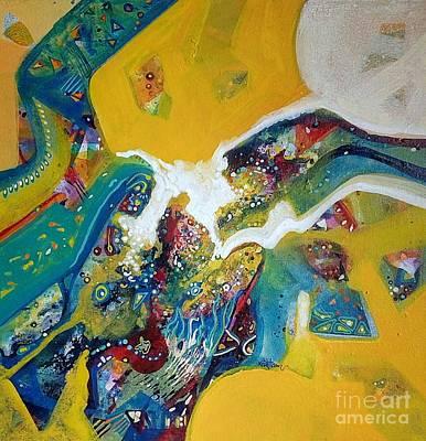 Painting - Yellow Harmony by Sanjay Punekar