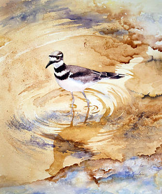 Killdeer Painting - Yellowstone Killdeer by Marsha Karle