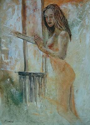Gir Painting - Young Girl 57905062 by Pol Ledent