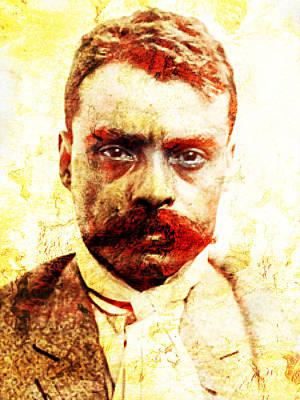 Zapata Print by Jose Espinoza