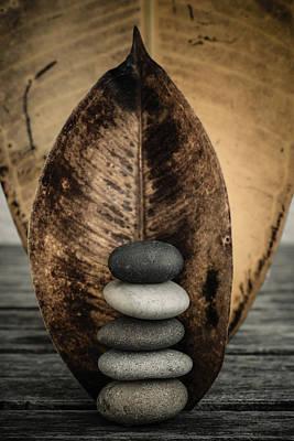 Zen Stones II Print by Marco Oliveira