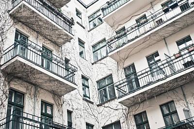 Bohemian Photograph - Apartments by Tom Gowanlock