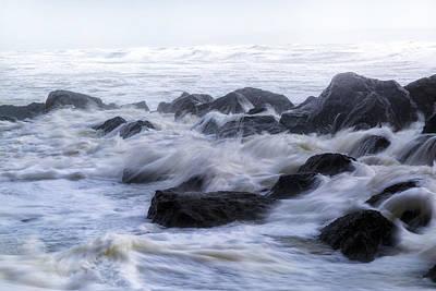Herbst Photograph - Barton On Sea - England by Joana Kruse
