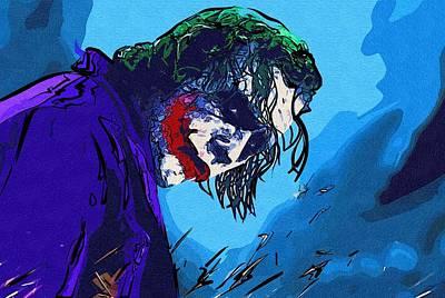 Batman Two Face Poster Print by Egor Vysockiy