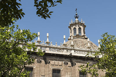 Retablo Photograph - Cathedral Of Seville - Seville Spain by Jon Berghoff