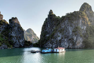 Halong Bay - Vietnam Print by Joana Kruse