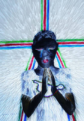 Gloria Mixed Media - Hope For Peace In South Sudan by Gloria Ssali