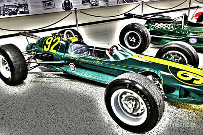 Lotus Racecar Photograph - Indy Race Car Museum by ELITE IMAGE photography By Chad McDermott