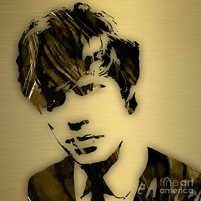 The Rolling Stones Mixed Media - Mick Jagger Collection by Marvin Blaine