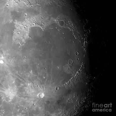 Moons Surface Print by Detlev van Ravenswaay