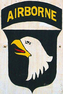101st Airborne Division Photograph - 101st Screaming Eagles by Unknown