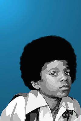 Jackson 5 Digital Art - 108. Easy As 123 by Tam Hazlewood