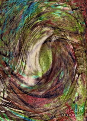 Nature Abstract Mixed Media - 11-03-11 by Gwyn Newcombe