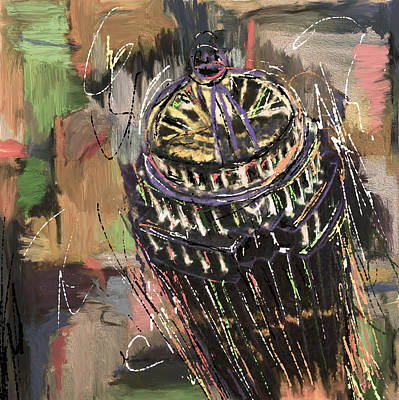 Moma Painting - 11 Huntington Avenue 220 3  by Mawra Tahreem
