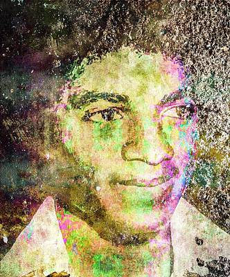 Michael Jackson Print by Svelby Art