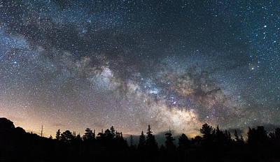 11 Mile Milky Way Print by Darren  White
