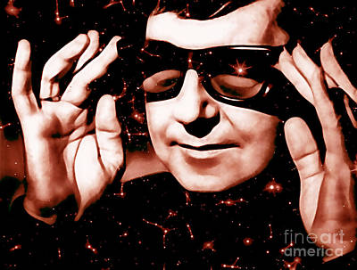 Roy Orbison Collection Print by Marvin Blaine