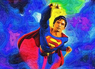 Superman Digital Art - Superman Returns by Egor Vysockiy
