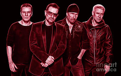 U2 Collection Print by Marvin Blaine
