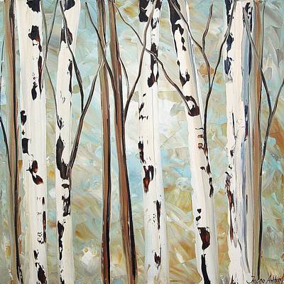 Abstract Landscape Print by Jolina Anthony