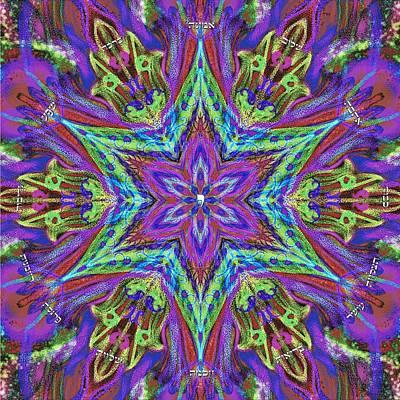 Mandala Digital Art - Blessing-home Blessing Or Business Blessing by Sandrine Kespi