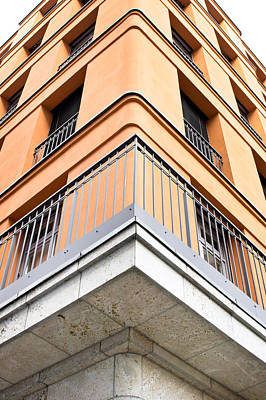 Modern Apartments Print by Tom Gowanlock