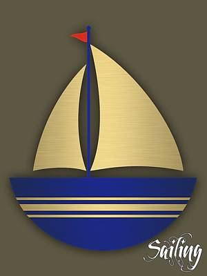 Maritime Mixed Media - Nautical Collection by Marvin Blaine