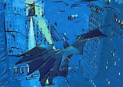 Batman Digital Art - New Batman Poster by Egor Vysockiy