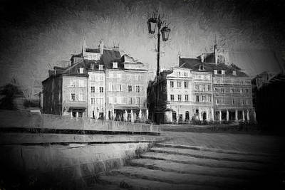 Old Town In Warsaw Print by Artur Bogacki