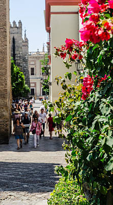 Monument Photograph - Streets Of Seville by Andrea Mazzocchetti