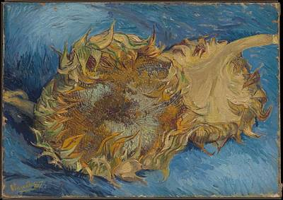 In Bloom Painting - Sunflowers by Vincent Van Gogh