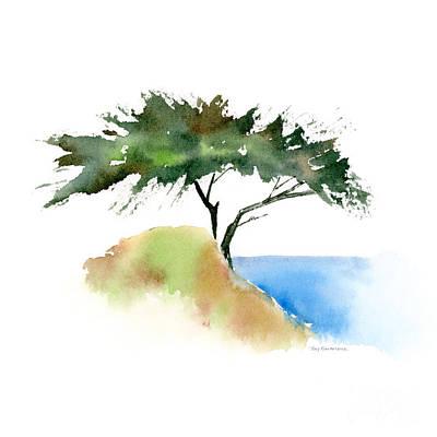 Torreys Painting - #12 Tree by Amy Kirkpatrick