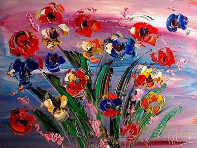Flowers Original by Mark Kazav
