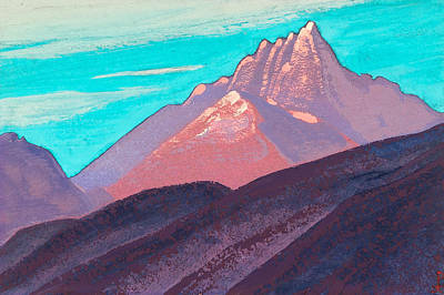 Sierra Painting - Himalayas by Nicholas Roerich