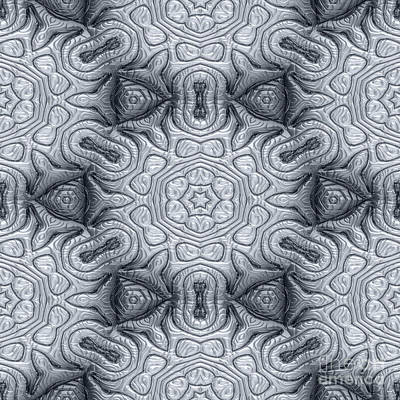Mayan Ornaments Print by Miroslav Nemecek