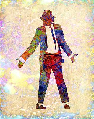 Michael Digital Art - Michael Jackson by Michael Vicin