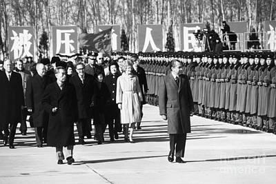 Thelma Photograph - Richard Nixon (1913-1994) by Granger