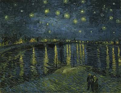 Moon Painting - Starry Night by Starry Night