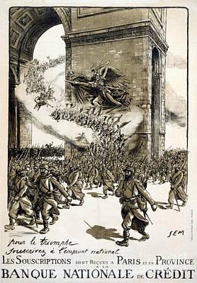 World War I: French Poster Print by Granger