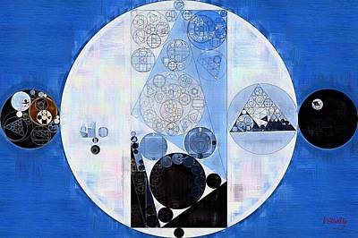 Forms Digital Art - Abstract Painting - Onyx by Vitaliy Gladkiy