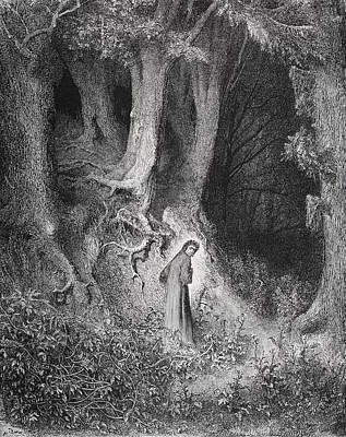 Engraving By Gustave Dore 1832-1883 Print by Vintage Design Pics