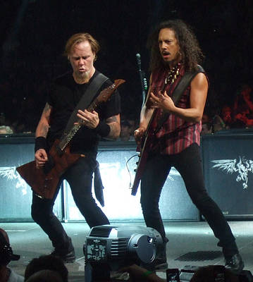Metallica Photograph - Metallica Live 2008 by Randy Walton