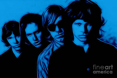 The Doors Collection Print by Marvin Blaine