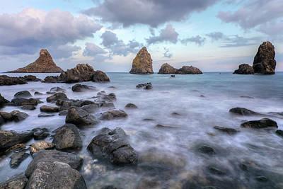 Cyclops Photograph - Aci Trezza - Sicily by Joana Kruse