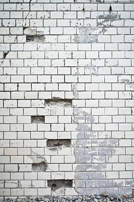 Damaged Wall Print by Tom Gowanlock