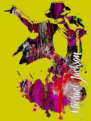 Dance Mixed Media - Michael Jackson Collection by Marvin Blaine